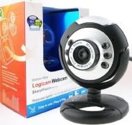 Webcam - New USB Web Camera - Webcam with built-in MIC - 5G Lens - Built-in microphone & LED lights, Plug and Play USB Web Camera which do