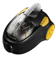 Zanussi ZAN1829 1800w Cyclonic Cylinder Vacuum Cleaner - Black &amp; Yellow