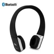 August EP635 Bluetooth Stereo Kopfhörer mit On Ear Lederohrpolster - Kabelloses Headset mit Freisprechfunktion, integriertem Mikrofon und Akku - Kompa
