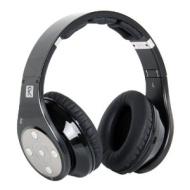 Bluedio Brand New 8 Sound Track Stereo Sound V3.0 Bluetooth Headphones HIFI Bluetooth Wireless Headset Black