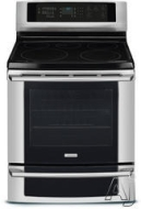 "Electrolux EI30EF55GB - Range - 30"" - freestanding - with self-cleaning - black"