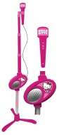 Hello Kitty Microphone Stand With Microphone
