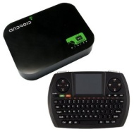 JUSTOP Android 4.0 TV Box HD Network Media Player / Streamer, Smart Internet TV Box, Built-in WIFI Support HDMI Flash 11 Skype Youtube---Great for Wat