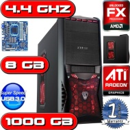 OCHW Home, Office, Gaming PC COMPUTER, Multimedia, Desktop, HOME, PC, Computer, 4.4GHz AMD FX 4170 QUAD CORE BULLDOZER CPU, 2GB ATI Radeon HD 6670 Gra