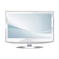 "22"" LCD TV DVD COMBI (SAMSUNG SCREEN) IN WHITE WITH FREEVIEW"