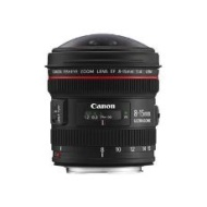 Canon - EF 8-15mm f/4 Fish-Eye USM Lens 4427B002