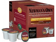 Keurig K-Cup Newmans Own Organic Blend Coffee, 18 Pack
