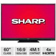 Sharp LC60LE640U Aquos 60-Inch 1080p 120Hz 1080p LED TV