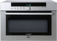 LG MP-9485SL - Microwave oven with grill - 34 litres - 900 W - silver
