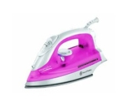 Russell Hobbs 15131  Steamglide 2200 W Iron in White and Pink