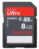 SanDisk Ultra 8GB SDHC UHS-I Card