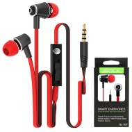 SkyTouch Green 3.5mm Stereo Handsfree Headset with On/Off Button and Mic (Packaged)