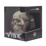 VIBE BlackDeath Over Ear Headphones