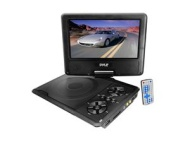7'' Portable TFT/LCD Monitor w/ Built-In DVD Player MP3/MP4/USB SD Card Slot