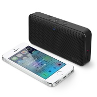 Aud Mini Smart 6 by iLuv (Portable Weather-Resistant App-Enabled FM Radio Bluetooth Speaker for Hiking, Camping) for Apple iPhone, Samsung GALAXY and