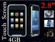 "New 4GB 2.4"" TFT screen FM MP3 MP4 Player + Built-in speaker+ With game function+ 1.3 mega pixel camera+ SD/MMC card support"