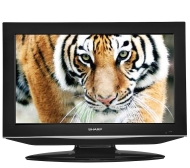 "Sharp AQUOS 32"" Diagonal 720p LCD HDTV w/Built-in DVD Player"