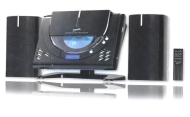 Supersonic Home Micro Stereo System Mp3 Cd Player Fm Radio Wall Mountable