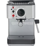 Cuisinart 1000-Watt 15-Bar Espresso Maker, Stainless Steel - Factory Refurbished