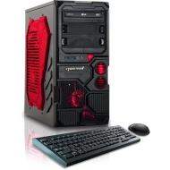 CybertronPC Borg-DS9 GMBGDS934RD Desktop (Red)
