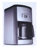 DeLonghi DC514T Stainless steel Coffee Maker
