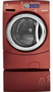 GFWH2400L 27&quot; Front-Load Washer with 4.9 IEC cu. ft. Capacity, Adaptive Vibration Control, eWash Option, Internal Water Heater, Speed Wash and CEE Tie