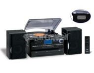 Jensen JTA-980 3 Speed Stereo Turntable 2 CD System with Cassette & AM/FM Stereo Radio