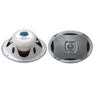 Pyle Lanzar AQ69CXS 500 Watts 6-InchX9-Inch 2-Way Marine Speakers (Silver)