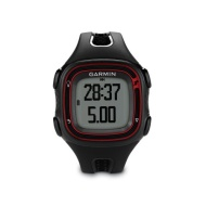 GARMIN Forerunner 10 GPS Sports Watch, Black/red