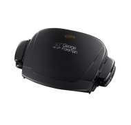 George Foreman 14066 Compact Removable Plates Grill - Black, 3 Portion