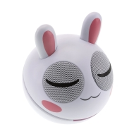 Kitsound Bunny Buddy Portable Speaker Compatible with iPod/iPad 2 3/iPhone