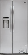 LG Freestanding Side-by-Side Refrigerator LSC27925