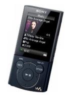 Sony - NW-ZE443B - Lecteur mp3 / mpeg4 - Radio - 4 Go - Noir