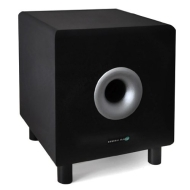 """Hyundai Multicav 8"""" Beige Active Home Theater Subwoofer 100W"""