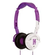 Skullcandy Lowrider Headphones w/Mic Purple/White w/Mic (2011 Color), One Size