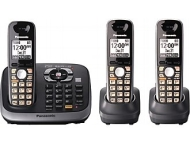 PanasonicKX-TG6543B DECT 6.0 Plus Expandable Digital Cordless Answering System
