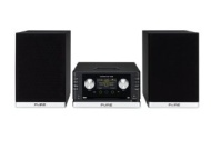 Pure Micro-Stereo-System, CD-Player, RDS-Radioteil, DAB-Empfang, Internet-Radiowiedergabe, Breitband-Lautsprecherboxen, AUX-Eingang, iPod-/iPhone-Doc