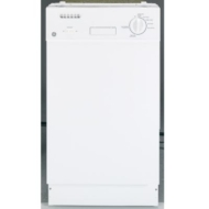 GE 18 in. Built-In Dishwasher