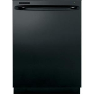 GE GLD5708VBB GLD5708VBB Tall Tub Built-In Dishwasher With Hidden Controls Towel Bar Handle 5-Stage Filtration Dedicated Silverware Jets Steam PreWas