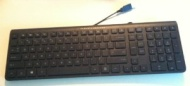 Hp Multimedia USB Keyboard with Volume Control Black Pn:505060-371 #Ku-0841