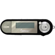 Impecca MP1402FB 4GB MP3 Player & Digital Voice Recorder Black