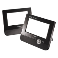 "Insignia 7"" Dual-Screen Portable DVD Player"