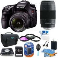 Sony SLTA65VK - a65 Digital SLR Camera 24.3 MP with 18-55mm Zoom Lens Plus Kit