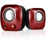 Speedlink Snappy Stereo USB Speakers / Red