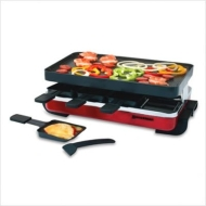Classic Raclette Grill - Red (KF-77043)