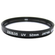 Zeikos 52mm Multicoated UV Protective Filter--offers lens protection & clearer pictures