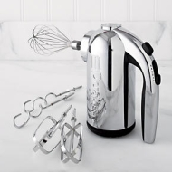 Dualit� 5 Speed Chrome Hand Mixer