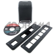 Flashpoint 35mm Slide Holder for F.P. Scanner. Holds three Slides.