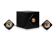 Kinivo M2 Bluetooth Big Bass 2.1 Speaker System with NFC - 56 Watts of Massive Power and a Solid Wooden Subwoofer