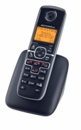 Motorola DECT 6.0 Cordless Phone with 2 Handsets, Digital Answering System and Mobile Bluetooth Linking L702BT